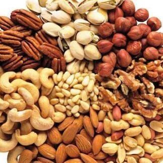Frutos secos, pasas y deshidratados