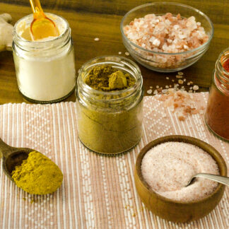 Sal, especias, condimentos